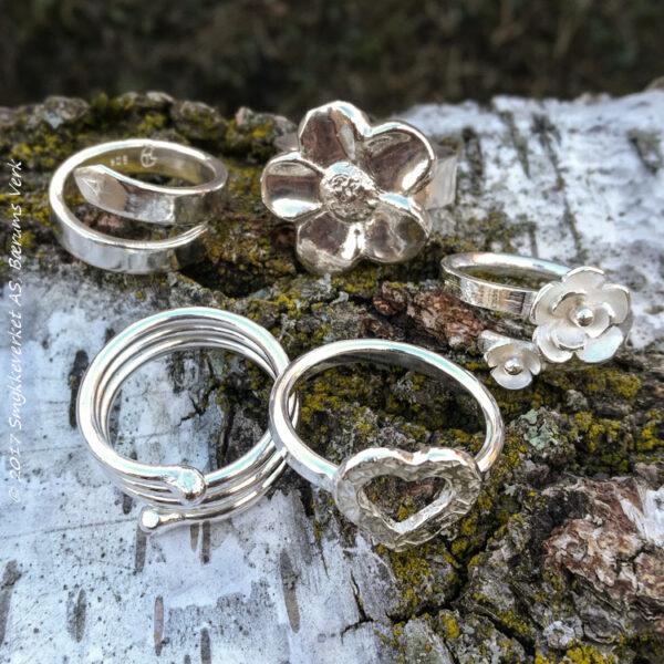 Ringer (bare sølv)